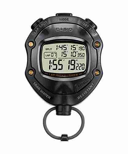 Casio HS-80TW-1DF (S055) Handheld Stopwatch Watch