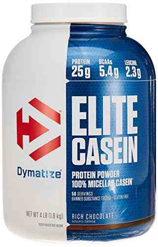 Dymatize Nutrition Elite Casein Powder (1.81Kg, Chocolate)