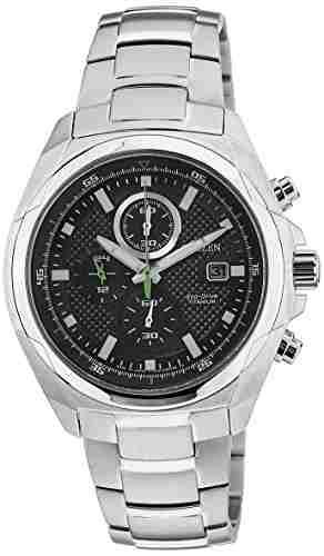 Citizen Eco-Drive CA0190-56E Analog Black Dial Men's Watch (CA0190-56E)