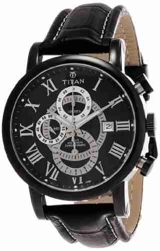 Titan NH9234NL01 9234NL01 Grant Analog Watch (NH9234NL01)