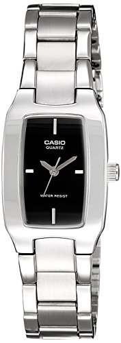 Casio Enticer LTP-1165A-1CDF (SH18) Analog Black Dial Women's Watch (LTP-1165A-1CDF (SH18))