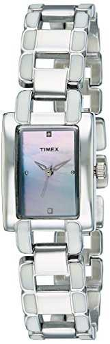 Timex J701 Fashion Analog Mother of Pearl Dial Women's Watch