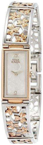 Titan Raga NK9901KM01 Weaves Analog Women's Watch (NK9901KM01)