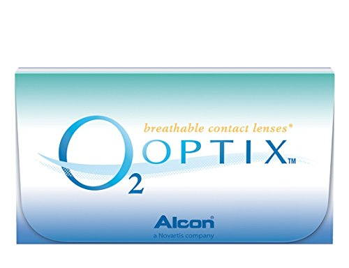 Alcon O2 Optix Monthly Contact Lens (-1, Clear, Pack of 6)