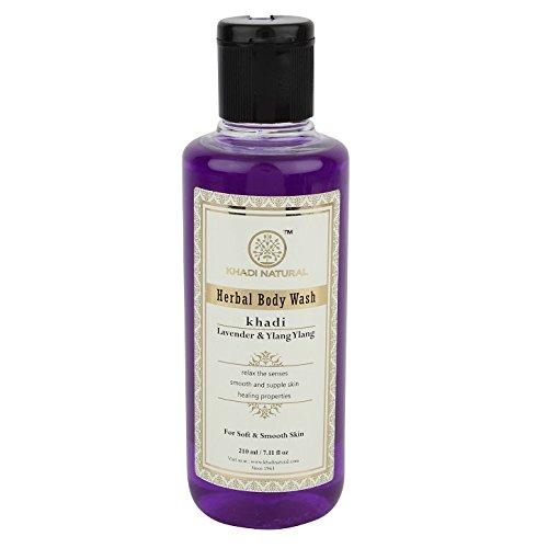 Khadi Lavender and Ylang Ylang Body Wash, 210ml