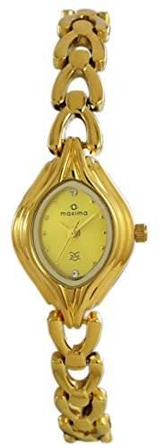 Maxima 04886BMLY Gold Analog Watch (04886BMLY)