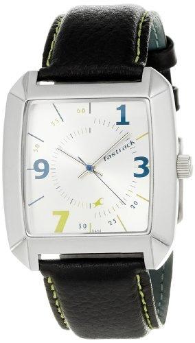 Fastrack NE9336SL02 White Dial Men's Watch (NE9336SL02)