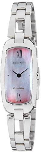 Citizen Eco-Drive EX1100-51D Analog Mother of Pearl Dial Women's Watch (EX1100-51D)