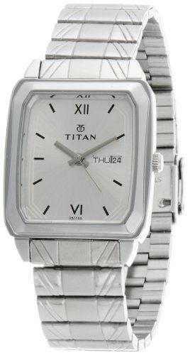 Titan Karishma NH1581SM03 Analog Silver Dial Men's Watch (NH1581SM03)