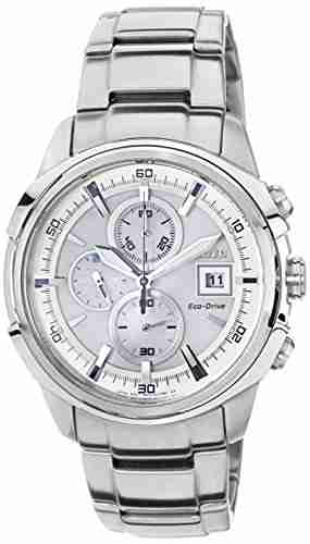 Citizen Eco-Drive CA0370-54A Analog White Dial Men's Watch (CA0370-54A)