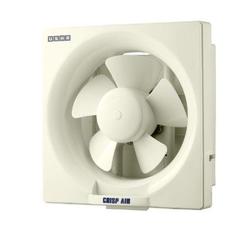Usha Crisp Air 250 mm Exhaust Fan (White)