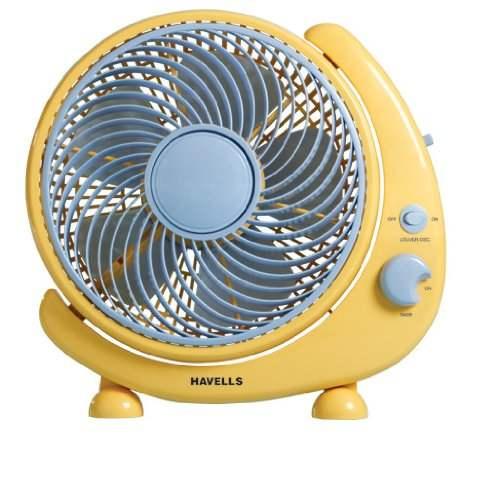 Havells Crescent 250 mm Personal Fan (Blue)