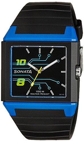 Sonata NK7988PP03 Fibre Ocean Series Analog Men's Watch (NK7988PP03)
