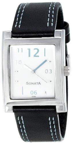 Sonata NK7925SL04 White Dial Analog Men's Watch (NK7925SL04)