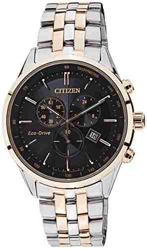 Citizen Eco-Drive AT2144-54E Analog Black Dial Men's Watch (AT2144-54E)