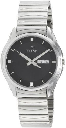 Titan Karishma NH1578SM04 Analog Black Dial Men's Watch (NH1578SM04)