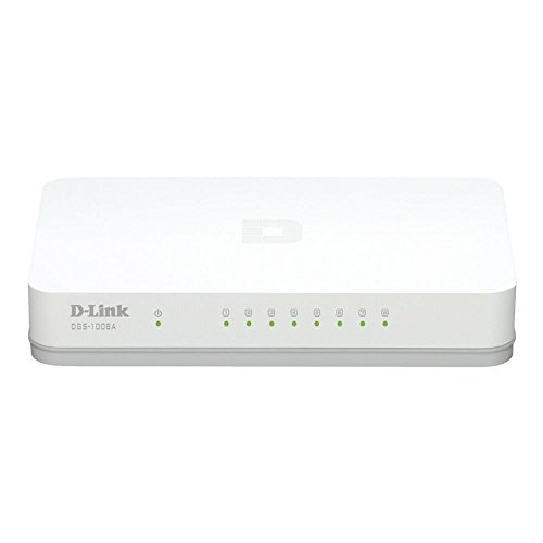 D-Link DGS 1008A 8-PORT Switch