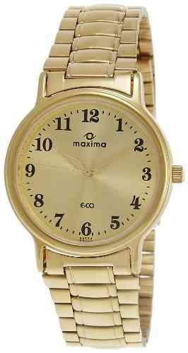 Maxima 26774CMGY Analog Gold Dial Men's Watch (26774CMGY)
