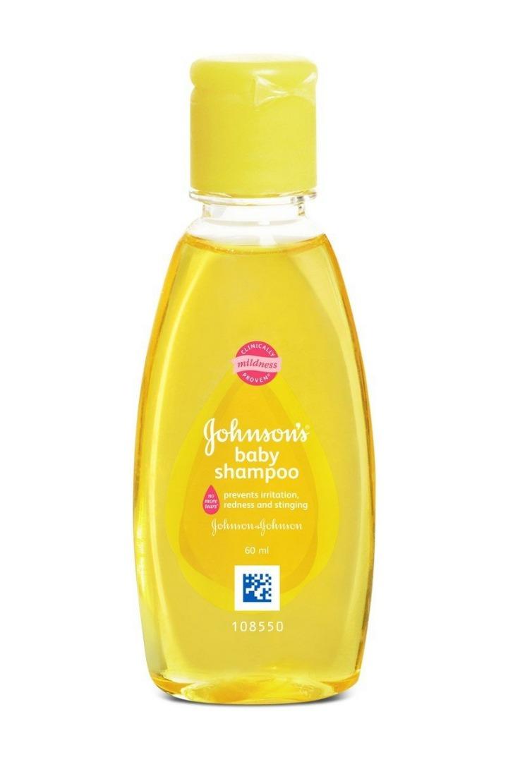 Johnsons Baby Shampoo, 60 ml