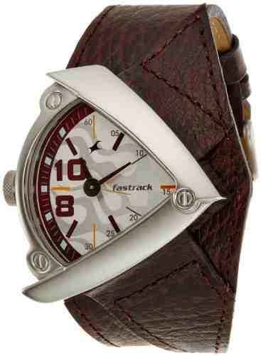 Fastrack 3022Sl01 Gents Leather Watch (3022Sl01)