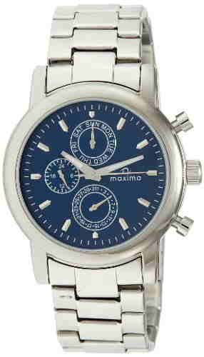 Maxima 26831CMGI Attivo Analog Blue Dial Men's Watch