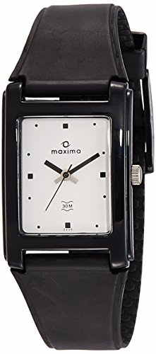 Maxima 02430PPGW Analog White Dial Men's Watch (02430PPGW)