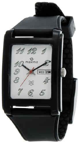 Maxima 07596PPGW Analog White Dial Men's Watch