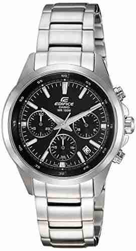 Casio Edifice EFR-527D-1AVUDF (EX098) Chronograph Black Dial Men's Watch (EFR-527D-1AVUDF (EX098))