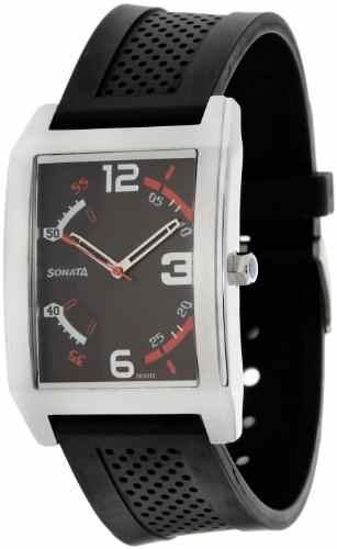 Sonata NG7999SP02 Analog Black Dial Men's Watch (NG7999SP02)