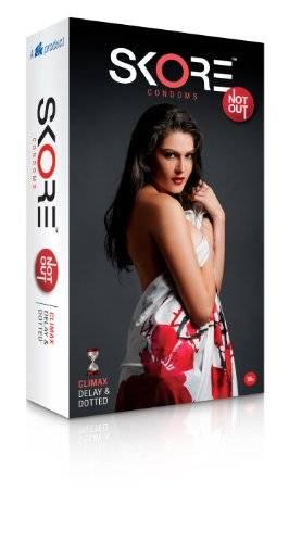Skore Not Out Condoms (10 Condoms)