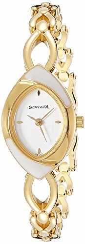 Sonata NG8069YM01C Analog Silver Dial Women's Watch (NG8069YM01C)