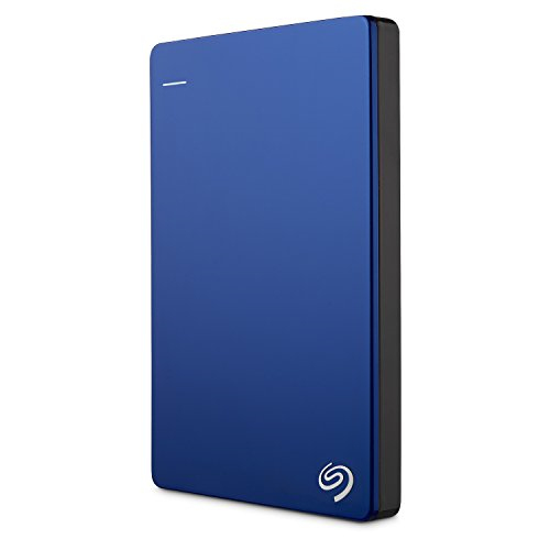 Seagate Backup Plus Slim 2 TB Wired External Hard Disk Drive Blue