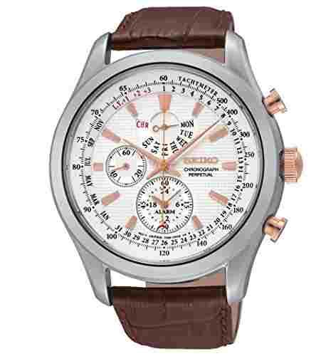 Seiko SPC129P1 Perpetual Chronograph-Analog Watch (SPC129P1)