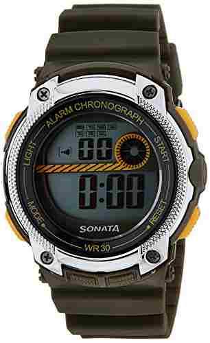 Sonata NH77005PP02J Digital Watch (NH77005PP02J)