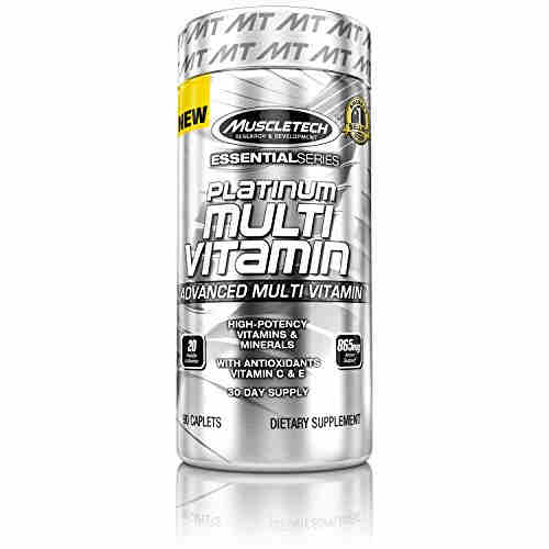 Muscletech Platinum Multi Vitamin (90 Caplets)