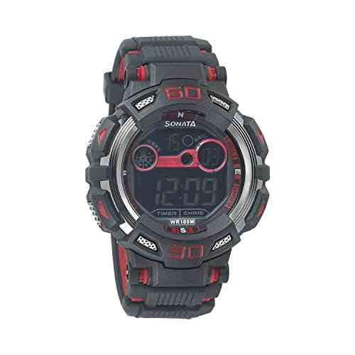 Sonata WT77009PP01JK Digital Black Dial Men's Watch (WT77009PP01JK)