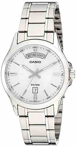 Casio Enticer MTP-1381D-7AVDF (A841) Analog Silver Dial Men's Watch (MTP-1381D-7AVDF (A841))