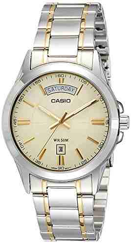 Casio Enticer MTP-1381G-9AVDF (A843) Analog Multi Color Dial Men's Watch (MTP-1381G-9AVDF (A843))