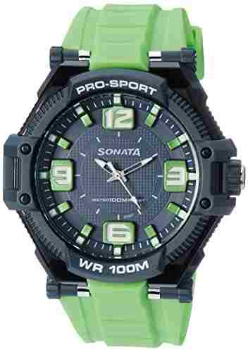 Sonata NH77029PP02J Analog Multi Color Dial Men's Watch (NH77029PP02J)