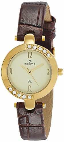 Maxima 29413LMLY Gold Analog Watch (29413LMLY)