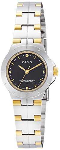 Casio Enticer LTP-1242SG-1CDF (A906) Analog Black Dial Women's Watch (LTP-1242SG-1CDF (A906))
