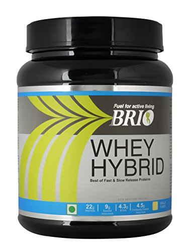 Brio Whey Hybrid (500gm, Vanilla)