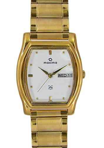 Maxima 29331CPGY Mac Collection Analog White Dial Men's Watch (29331CPGY)