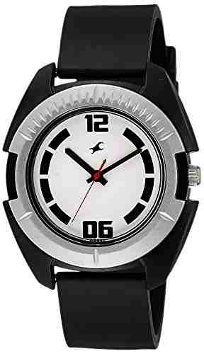 Fastrack 3116PP02 Casual Analog White Dial Men's Watch (3116PP02)
