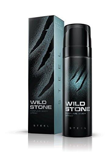 Wild Stone Steel Body Deodorant For Men 120 ml