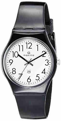 Maxima 02016PPGW Aqua Regular Analog White Dial Men's Watch