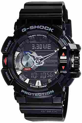 Casio G-Shock GBA-400-1ADR (G556) Analog Digital Black Dial Men's Watch (GBA-400-1ADR (G556))