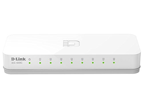 D-Link DES-1008C 10/100 Mbps Unmanaged Switch