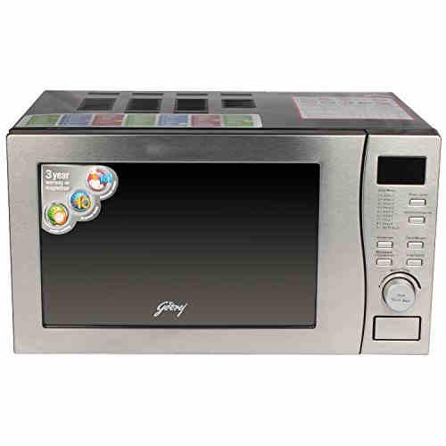 Godrej GMX20CA5MLZ 20-Ltr 2200-Watt Convection Microwave Oven Clear
