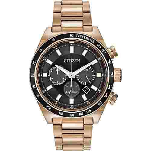 Citizen CA4203-54E Analog Black Dial Men's Watch (CA4203-54E)